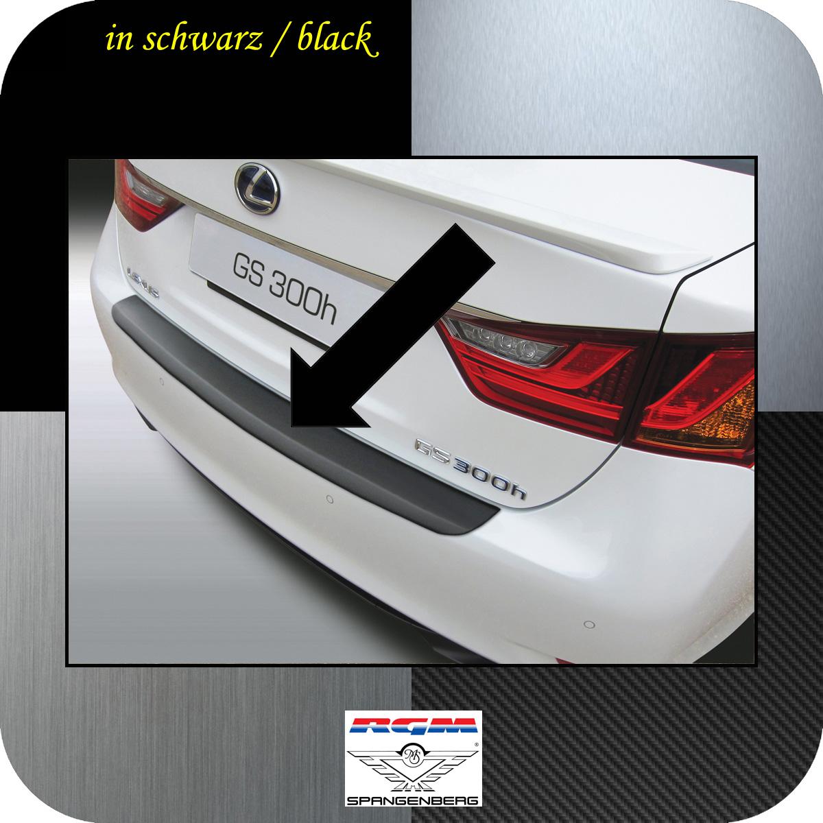 Ladekantenschutz schwarz Lexus GS IV Limousine ab Baujahr 2012- 3500730