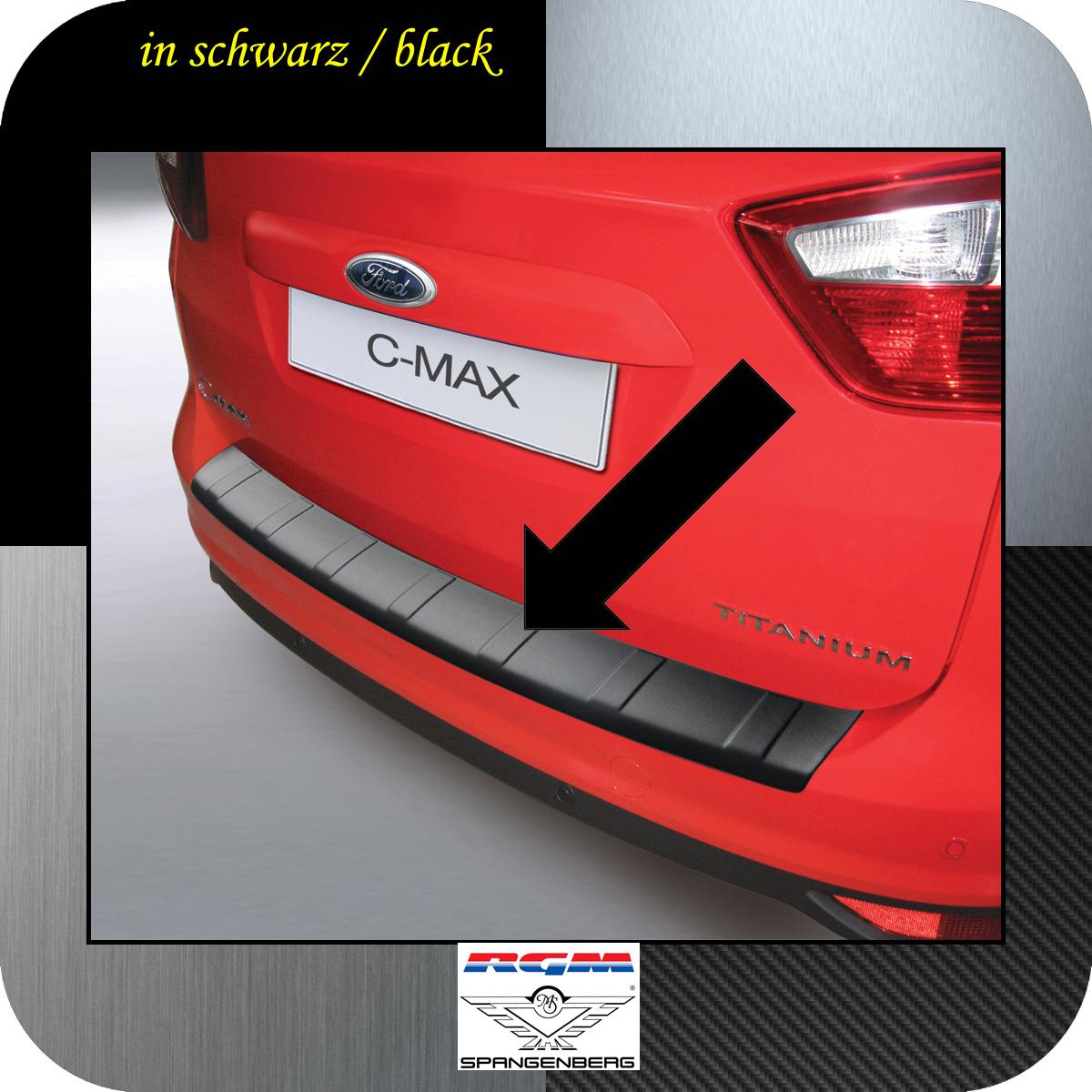 Ladekantenschutz schwarz Ford C-MAX II vor facelift 2010-2015 3500773