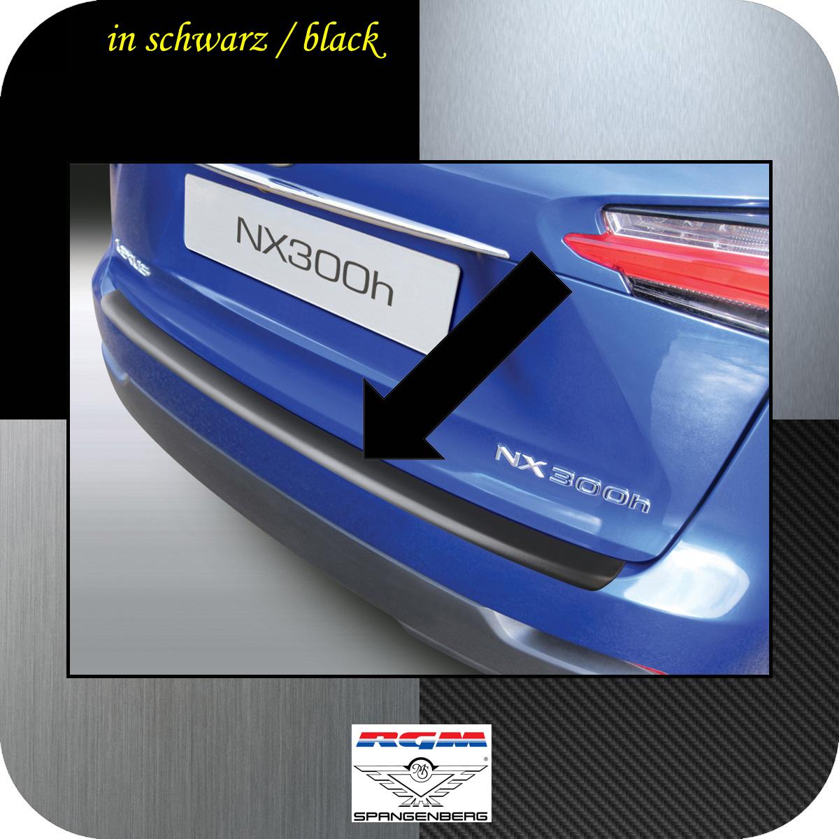 Ladekantenschutz schwarz Lexus NX SUV Kombi ab Baujahr 2014- 3500787