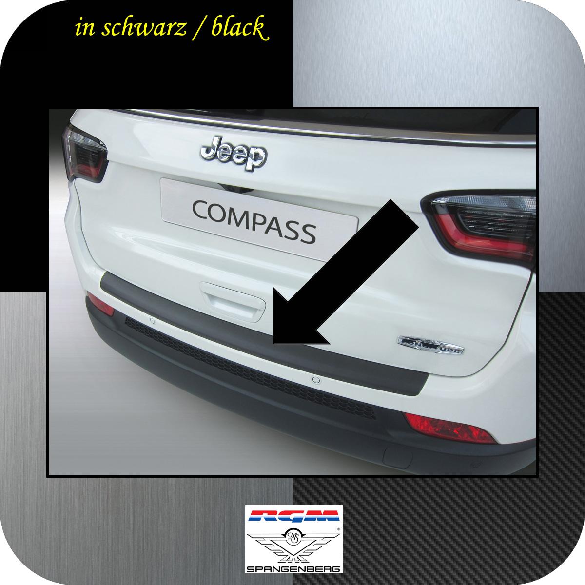 Ladekantenschutz schwarz Jeep Compass SUV Typ MX 2. Gen. ab 12.2016- 3500797