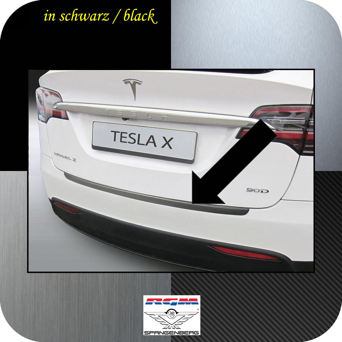 Ladekantenschutz schwarz Tesla Model X ab Baujahr 09.2015- 3500800