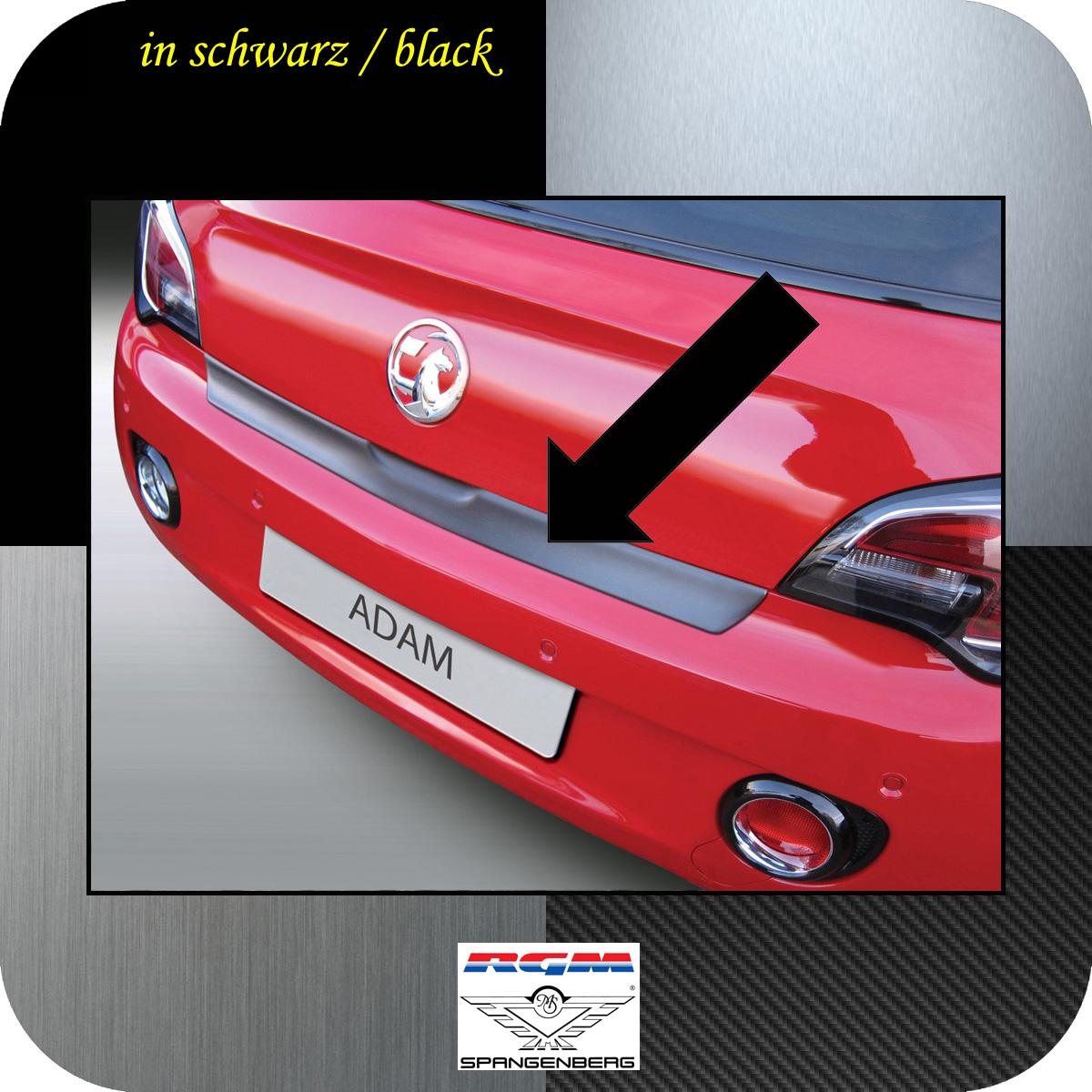 Ladekantenschutz schwarz Opel Adam Schrägheck 3-Türer ab Bj 2012- 3500884