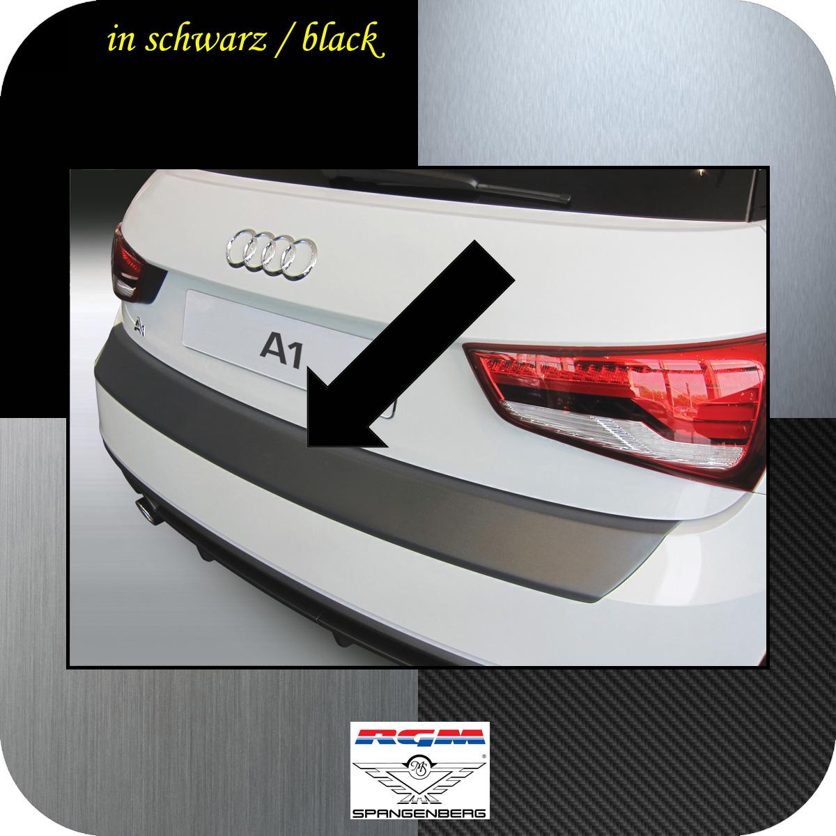 Ladekantenschutz schwarz Audi A1 auch Sportback ab facelift 2015-2018 3500887