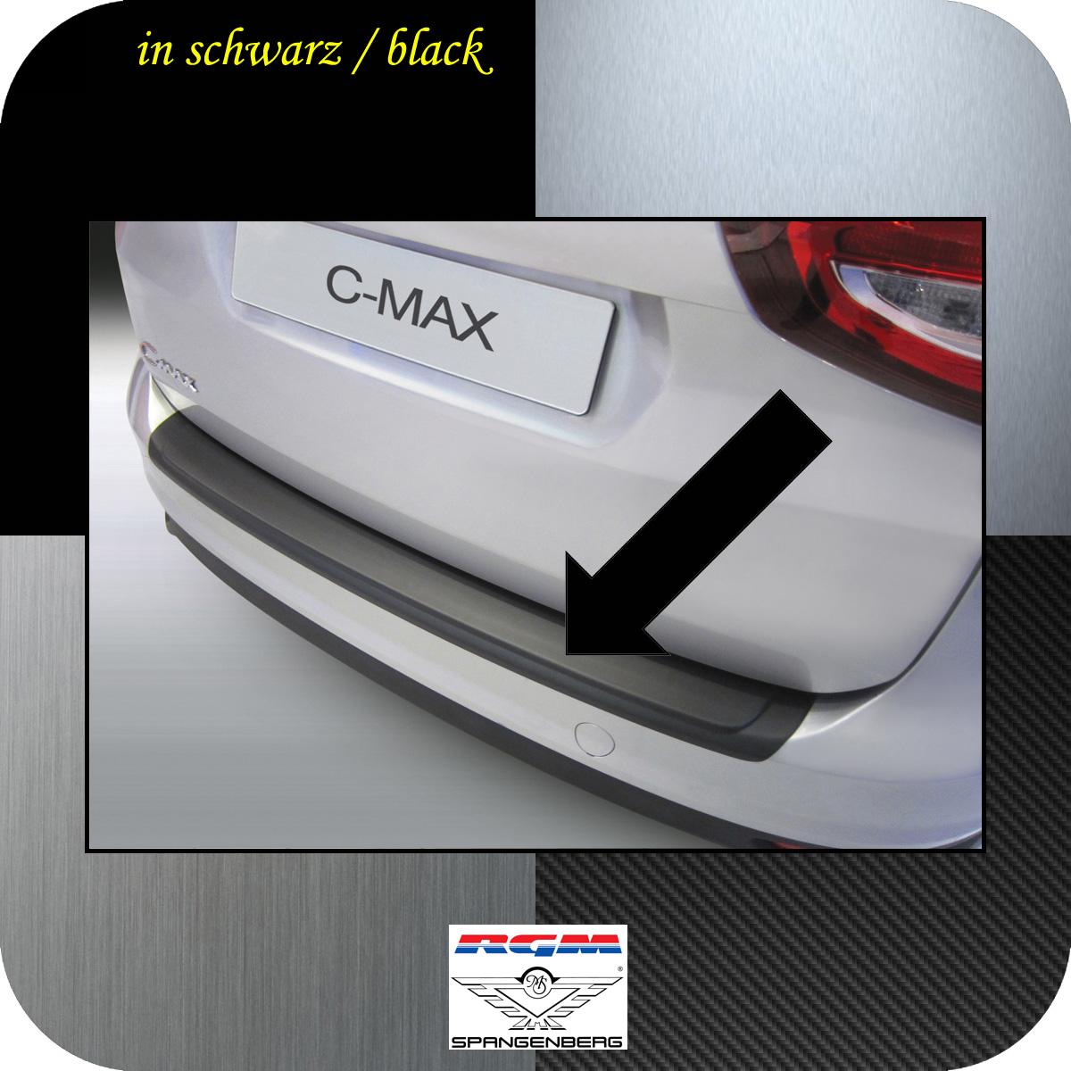 Ladekantenschutz schwarz Ford C-MAX II ab facelift Baujahr 2015- 3500889