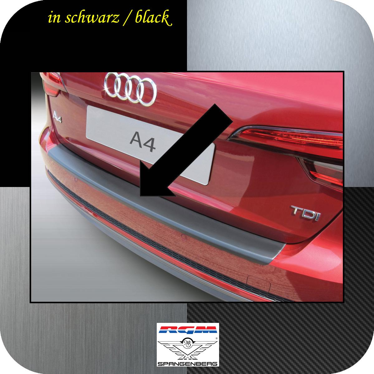 Ladekantenschutz schwarz Audi A4 B9 Avant auch S-Line 5-Türer 2015- 3500894