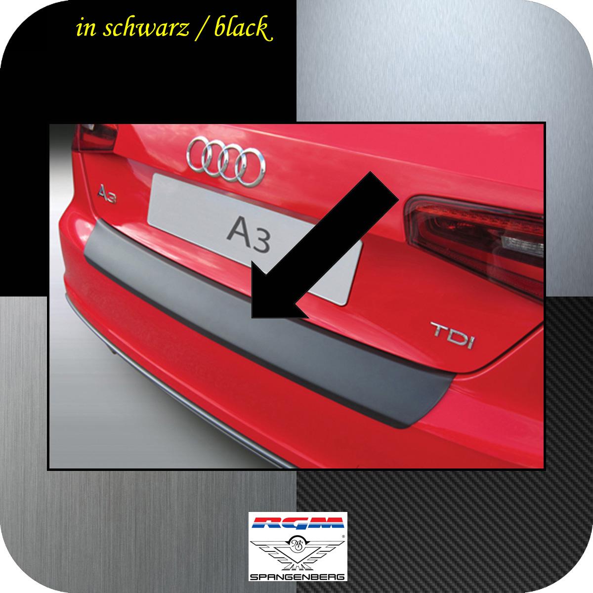 Ladekantenschutz schwarz Audi A3 auch S3 Schrägheck 3-Türer 2012-2017 3500899