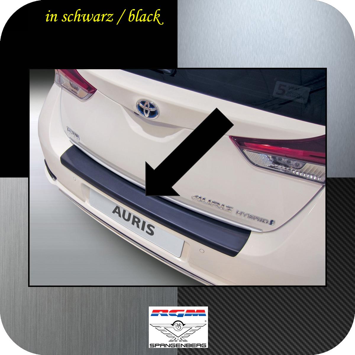 Ladekantenschutz schwarz Toyota Auris II Schrägheck ab Mopf 2015- 3500911