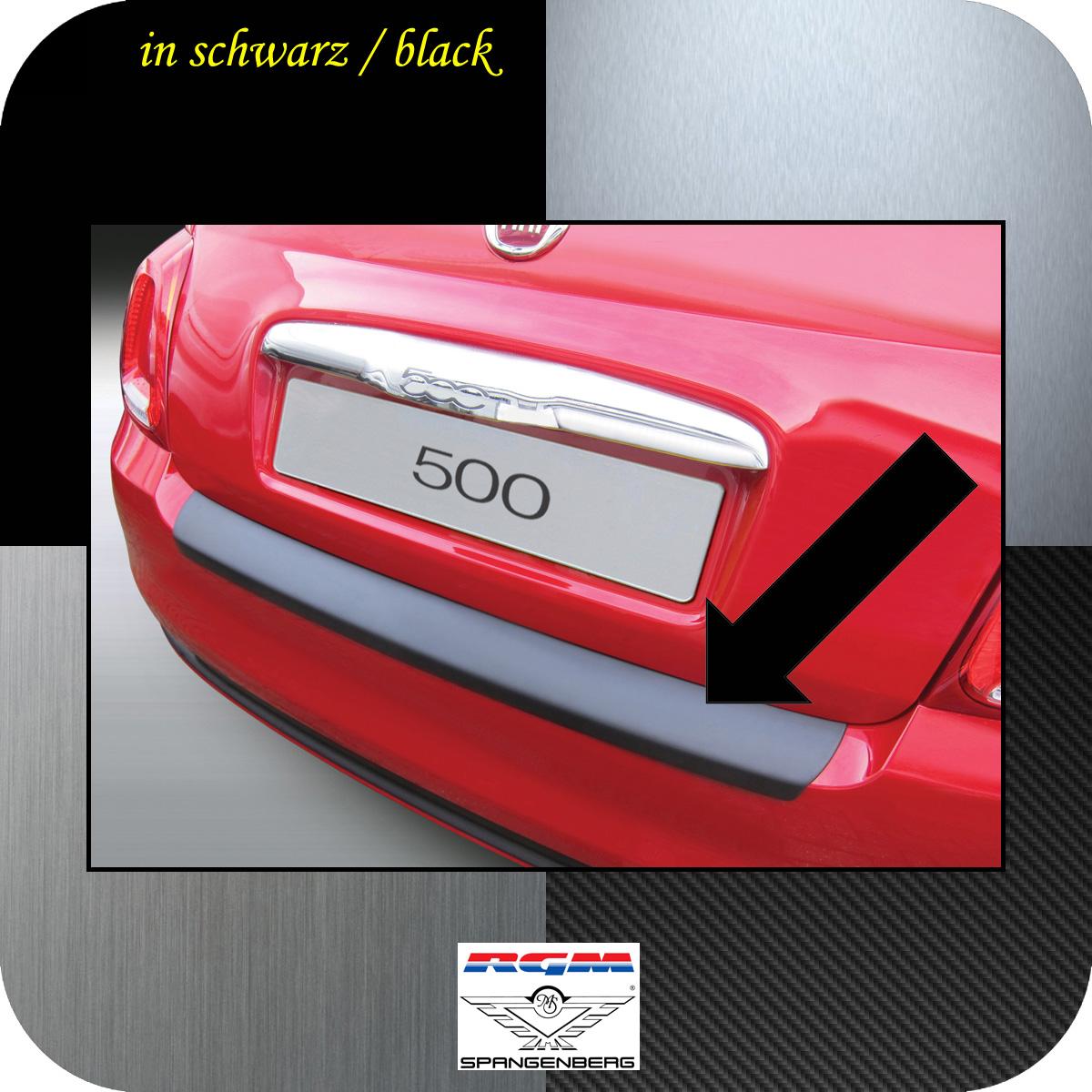 Ladekantenschutz schwarz Fiat 500 ab facelift Baujahr 2015- 3500914