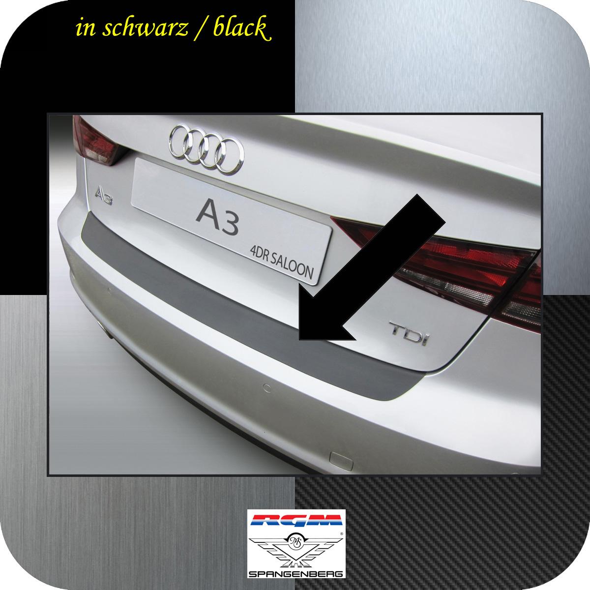 Ladekantenschutz schwarz Audi A3 8V Limousine 4-Türer ab Baujahr 2013- 3500926