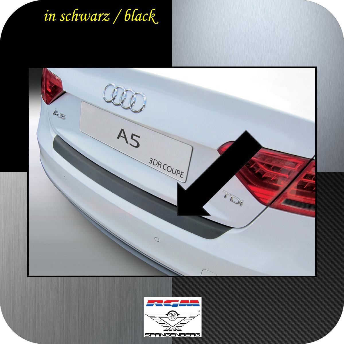 Ladekantenschutz schwarz Audi A5 Coupe 3-Türer Baujahre 2011-2016 3500927