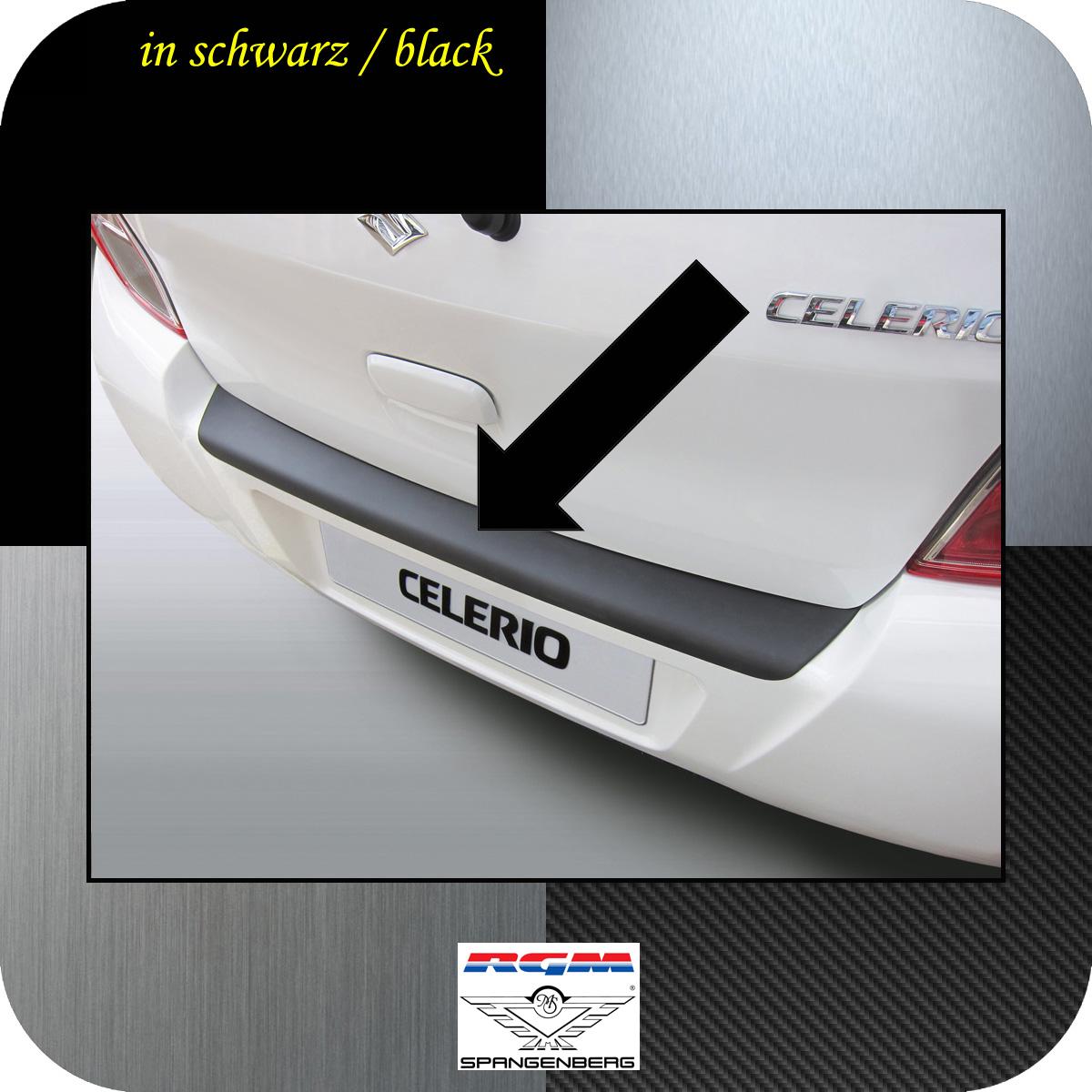 Ladekantenschutz schwarz Suzuki Celerio Schrägheck ab Baujahr 03.2014- 3500937