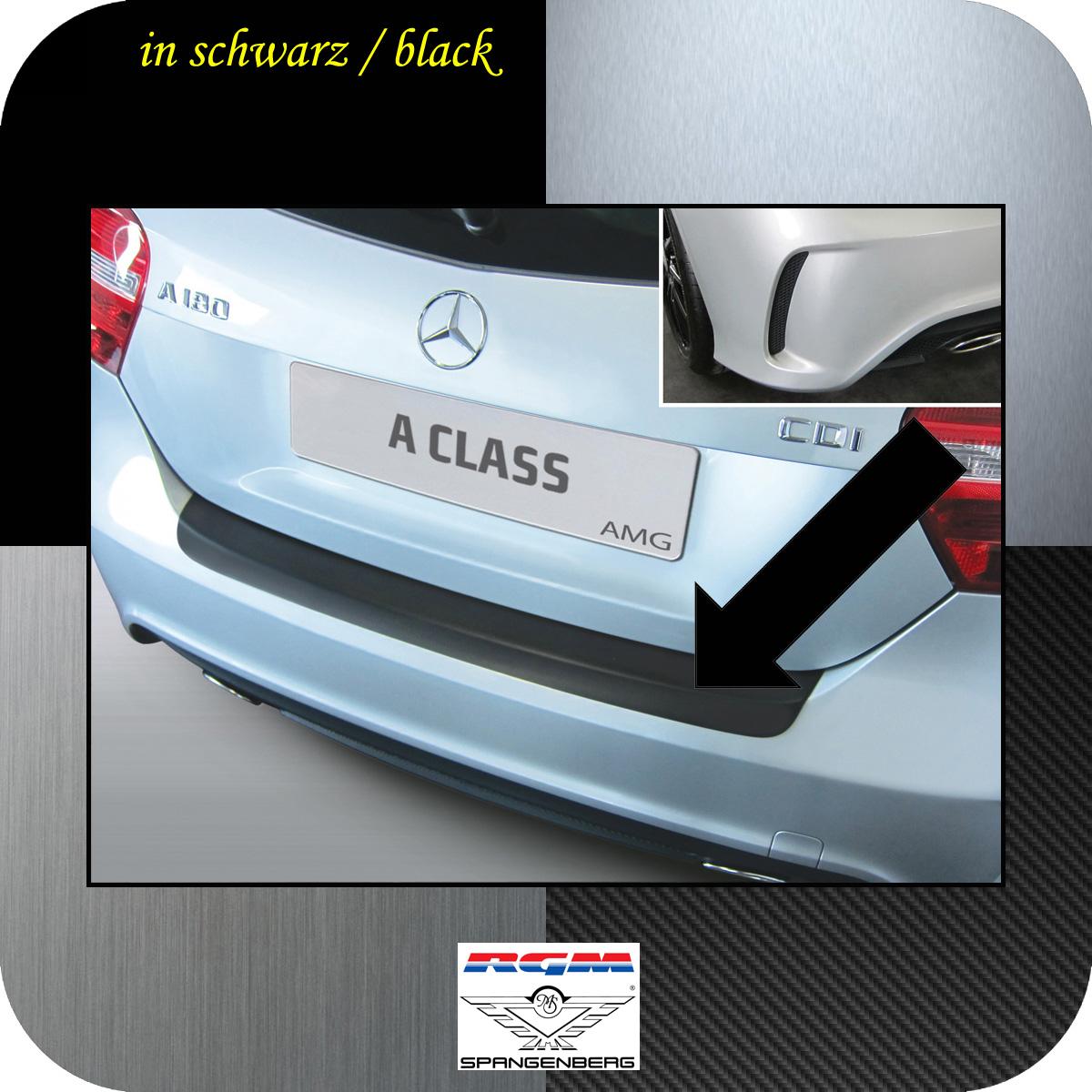 Ladekantenschutz schwarz Mercedes A-Klasse W176 2012- nur 45 AMG und 250 3500951