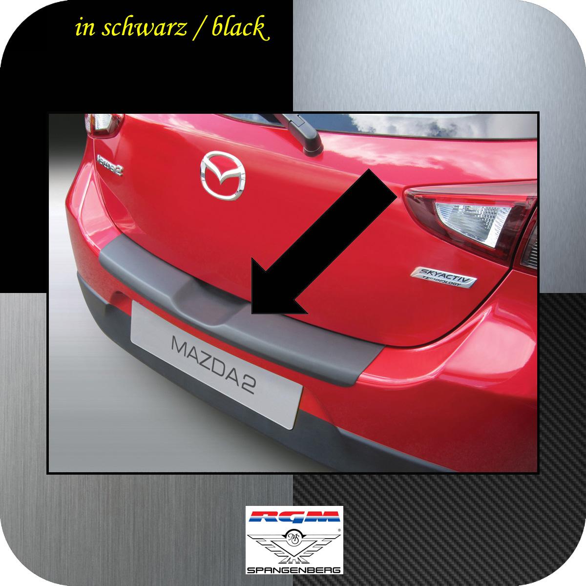 Ladekantenschutz schwarz Mazda 2 DJ Schrägheck 3- und 5-Türer ab 11.14- 3500955