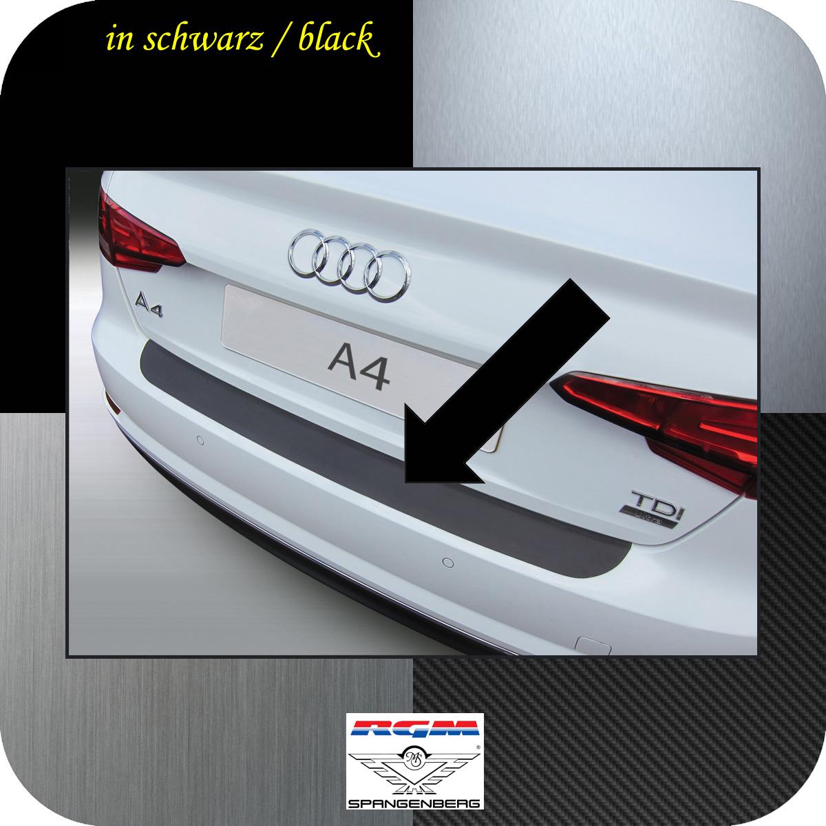 Ladekantenschutz schwarz Audi A4 B9 Limousine 4-Türer ab Baujahr 2015- 3500960