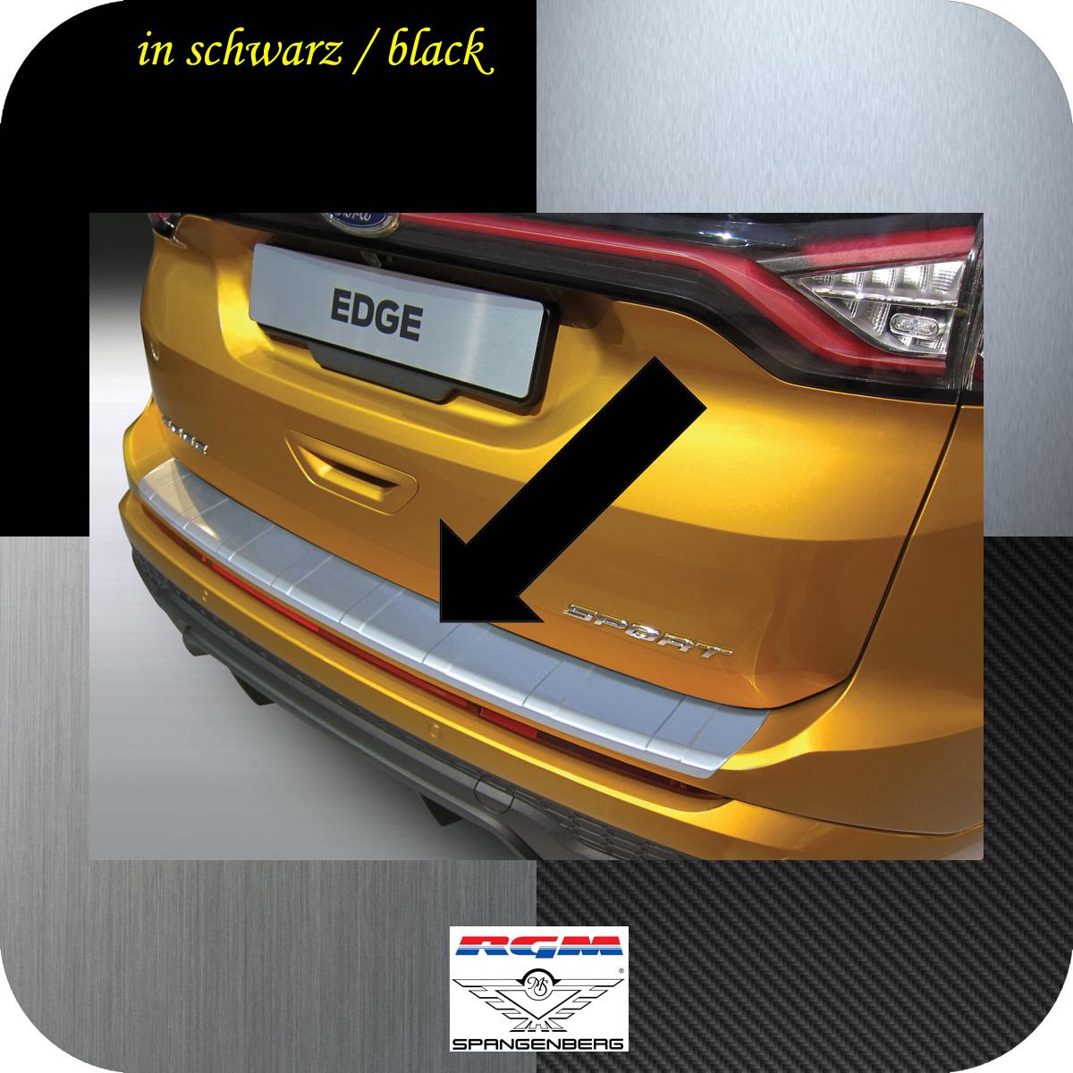 Ladekantenschutz schwarz gerippt Ford Edge II SUV vor facelift 2016-2018 3500965