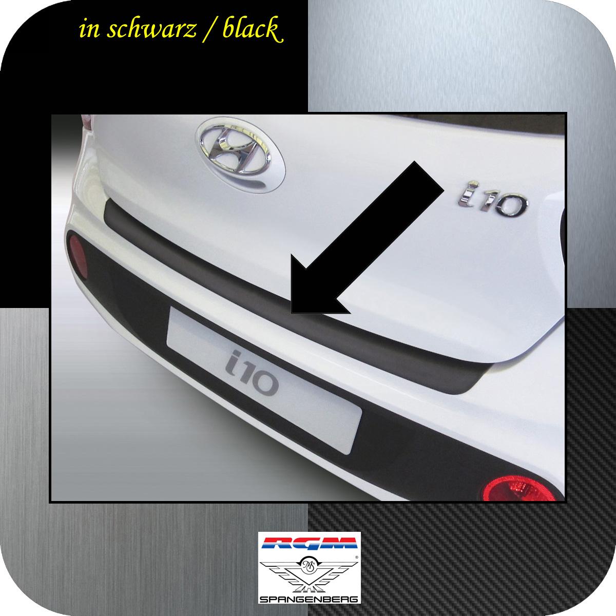 Ladekantenschutz schwarz Hyundai i10 Schrägheck ab Baujahr 2017- 3500972