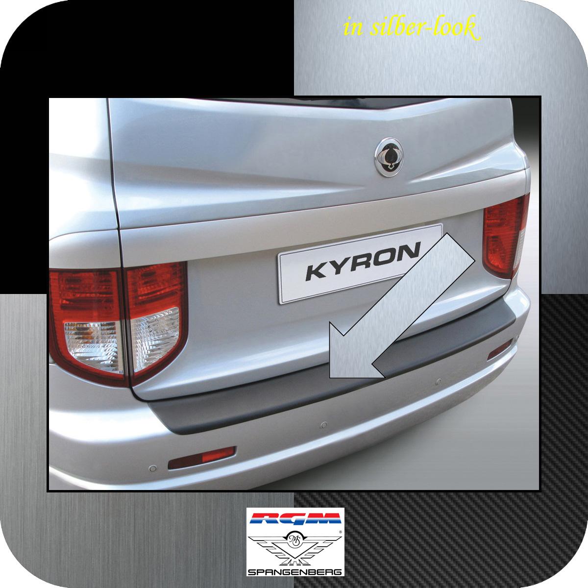 Ladekantenschutz Silber-Look SsangYong Kyron SUV vor facelift 2005-2007 3506150