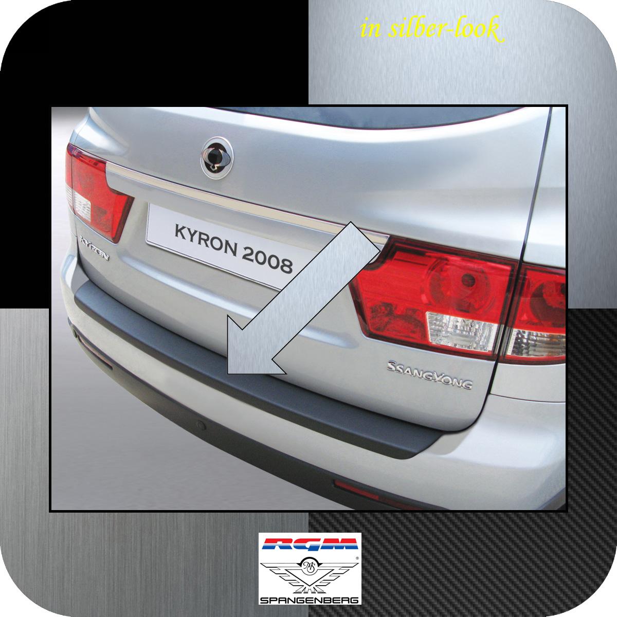 Ladekantenschutz Silber-Look SsangYong Kyron SUV Kombi facelift 2007- 3506154