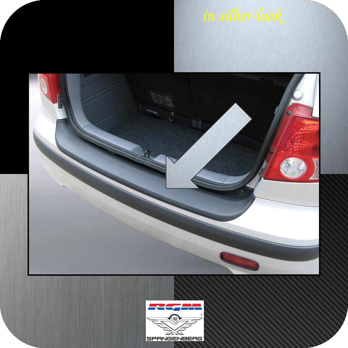 Ladekantenschutz Silber-Look Hyundai Getz Schrägheck vor Mopf 2002-05 3506211