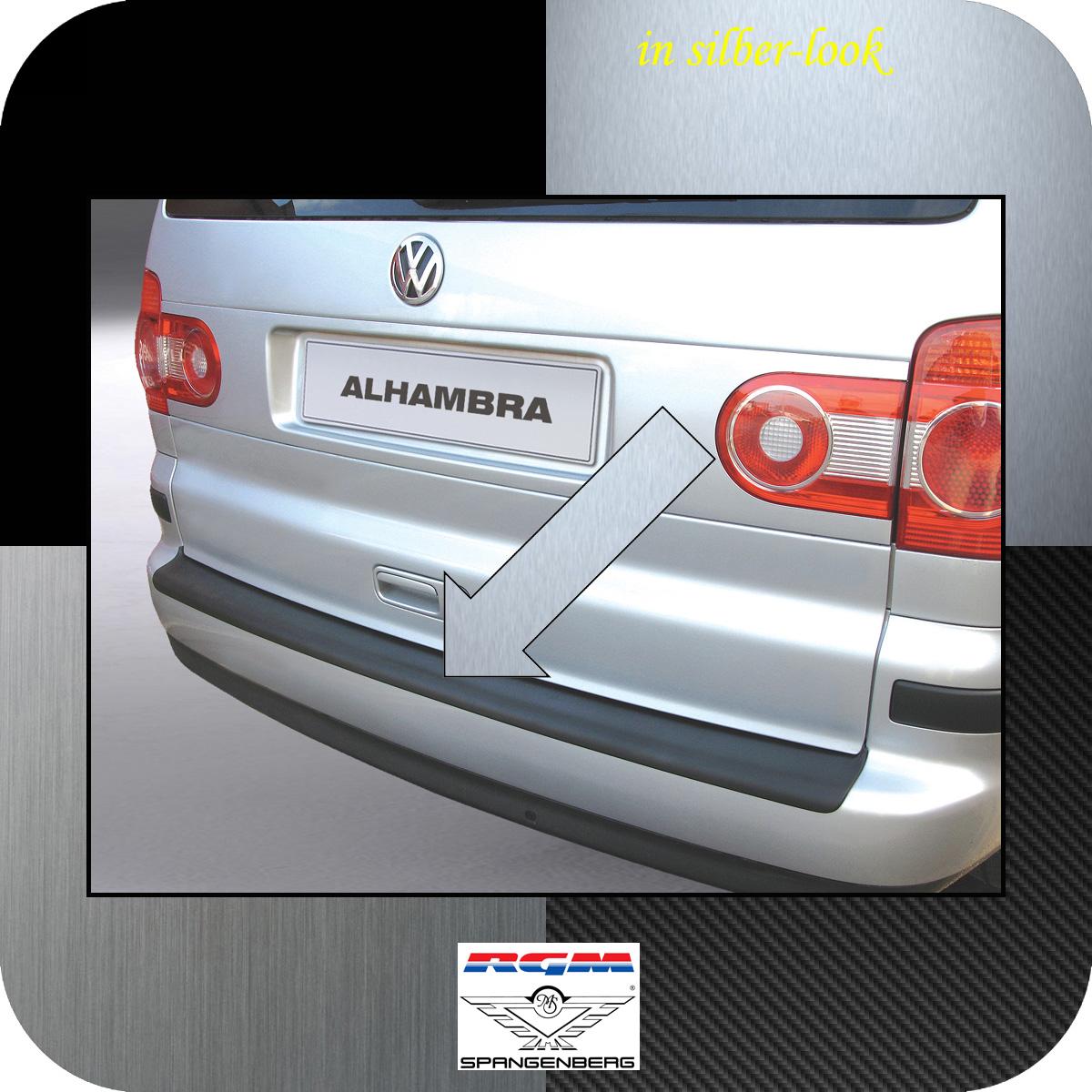 Ladekantenschutz Silber-Look Seat Alhambra I Van Kombi ab Mopf 2000-10 3506232