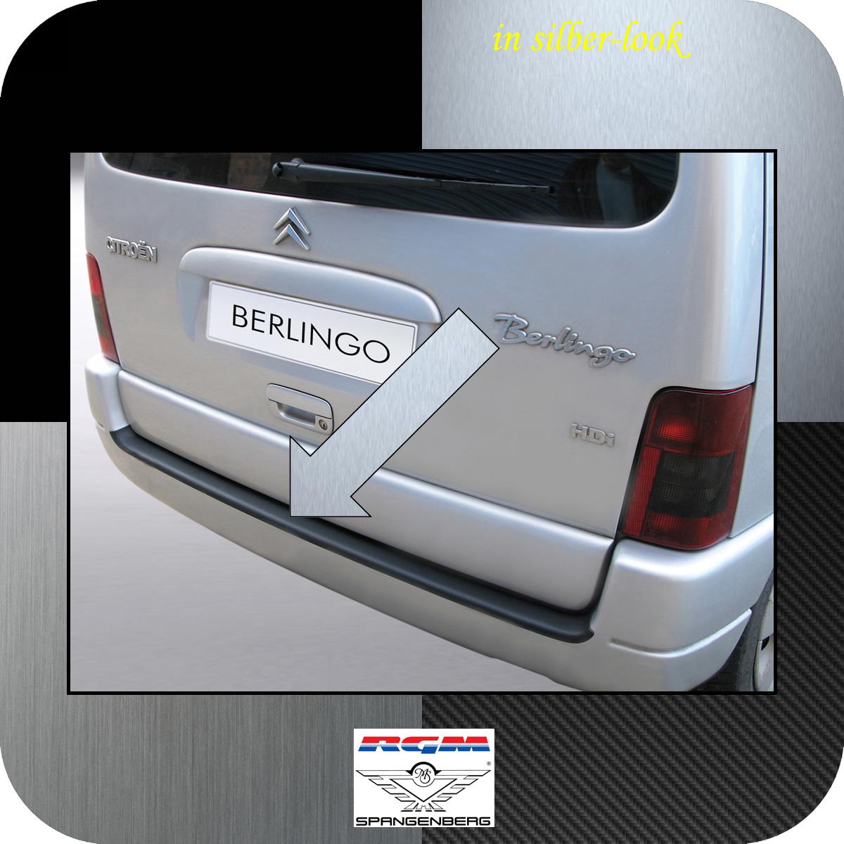 Ladekantenschutz Silber-Look Citroen Berlingo I bis Baujahr 2008 3506258