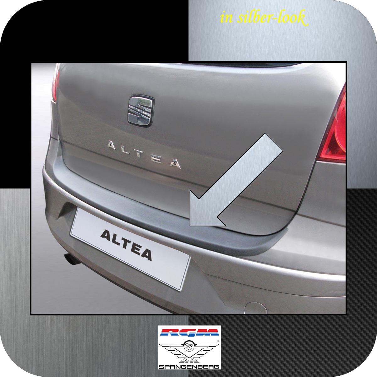 Ladekantenschutz Silber-Look Seat Altea Van Kombi vor facelift 2004-2009 3506273