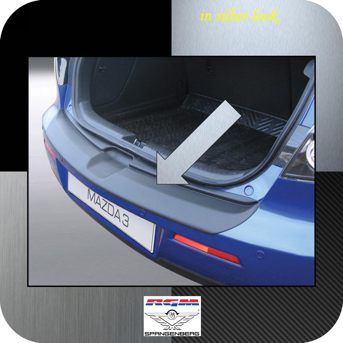 Ladekantenschutz Silber-Look Mazda3 I Axela Schrägheck ab Mopf 2006-09 3506313