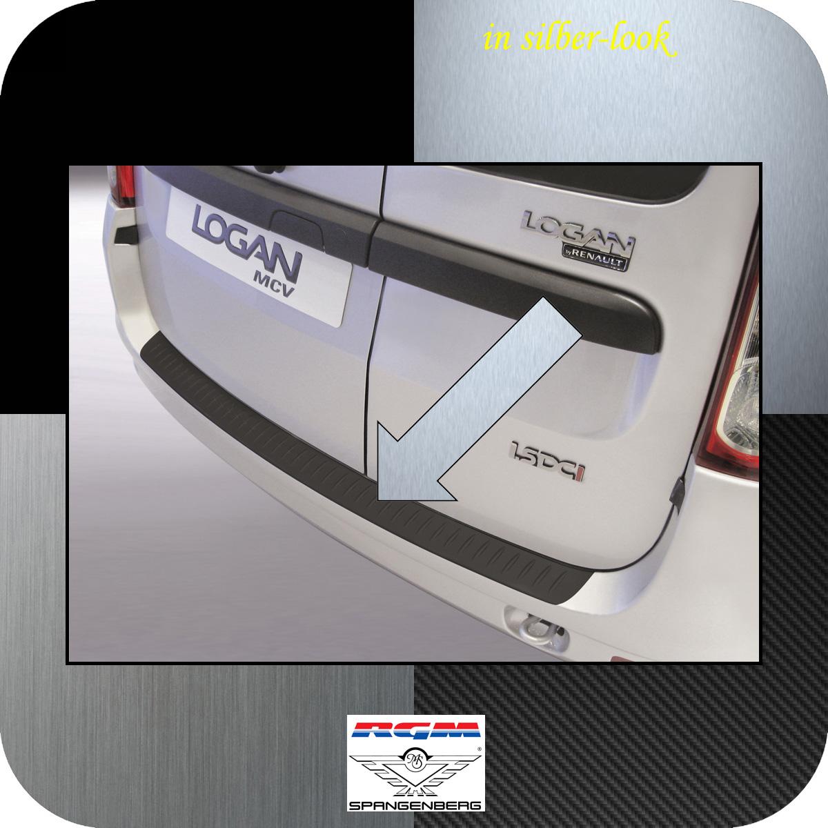 Ladekantenschutz Silber-Look Dacia Logan MCV I Kombi ab facelift 2009-13 3506314