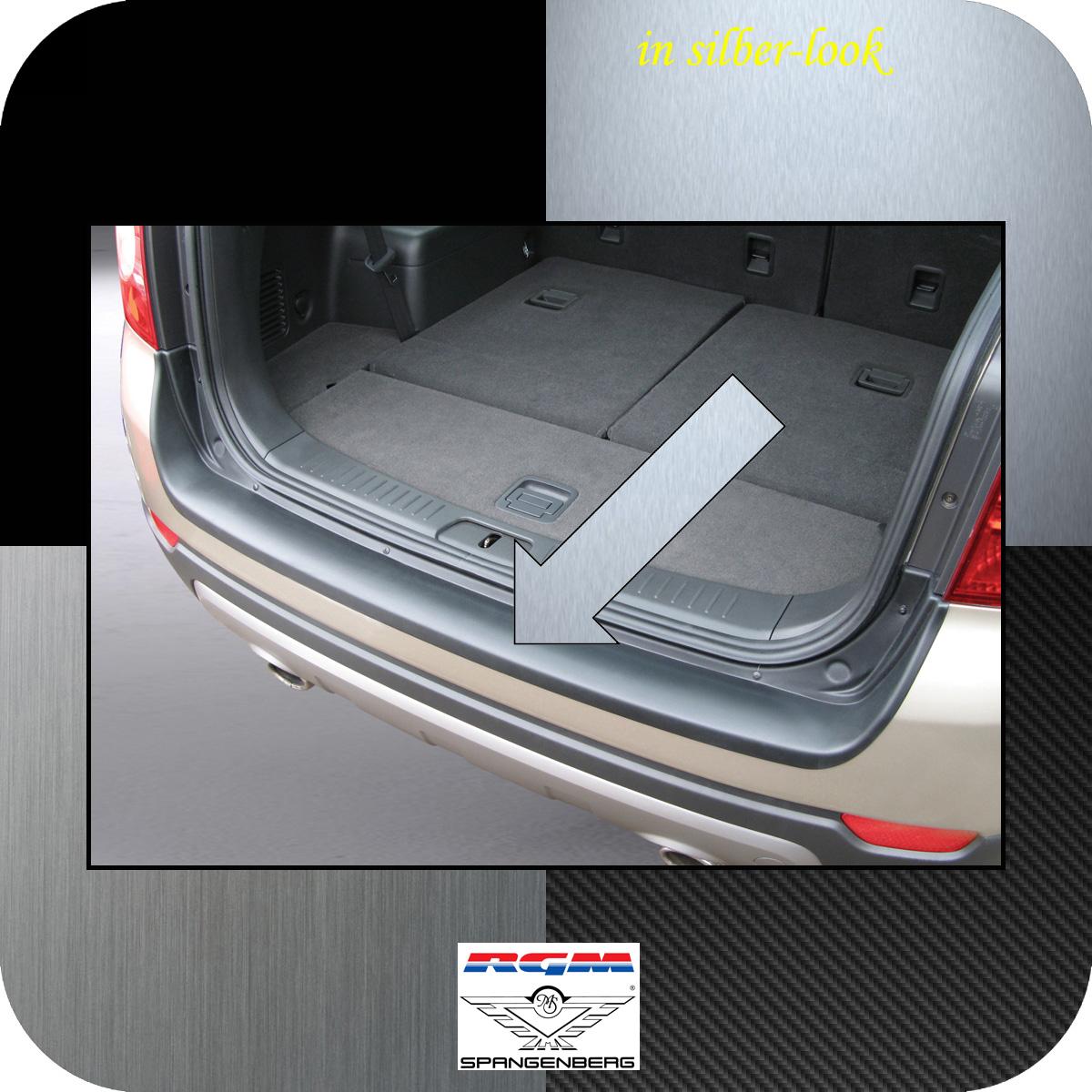 Ladekantenschutz Silber-Look Chevrolet Captiva SUV 4X4 vor Mopf 2006-13 3506322