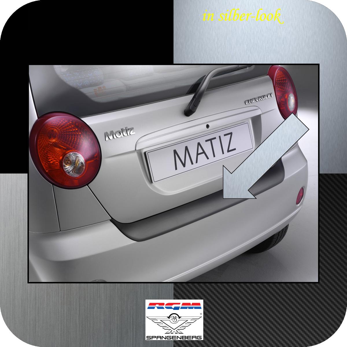 Ladekantenschutz Silber-Look Chevrolet Matiz Spark Schrägheck bis 2010 3506326
