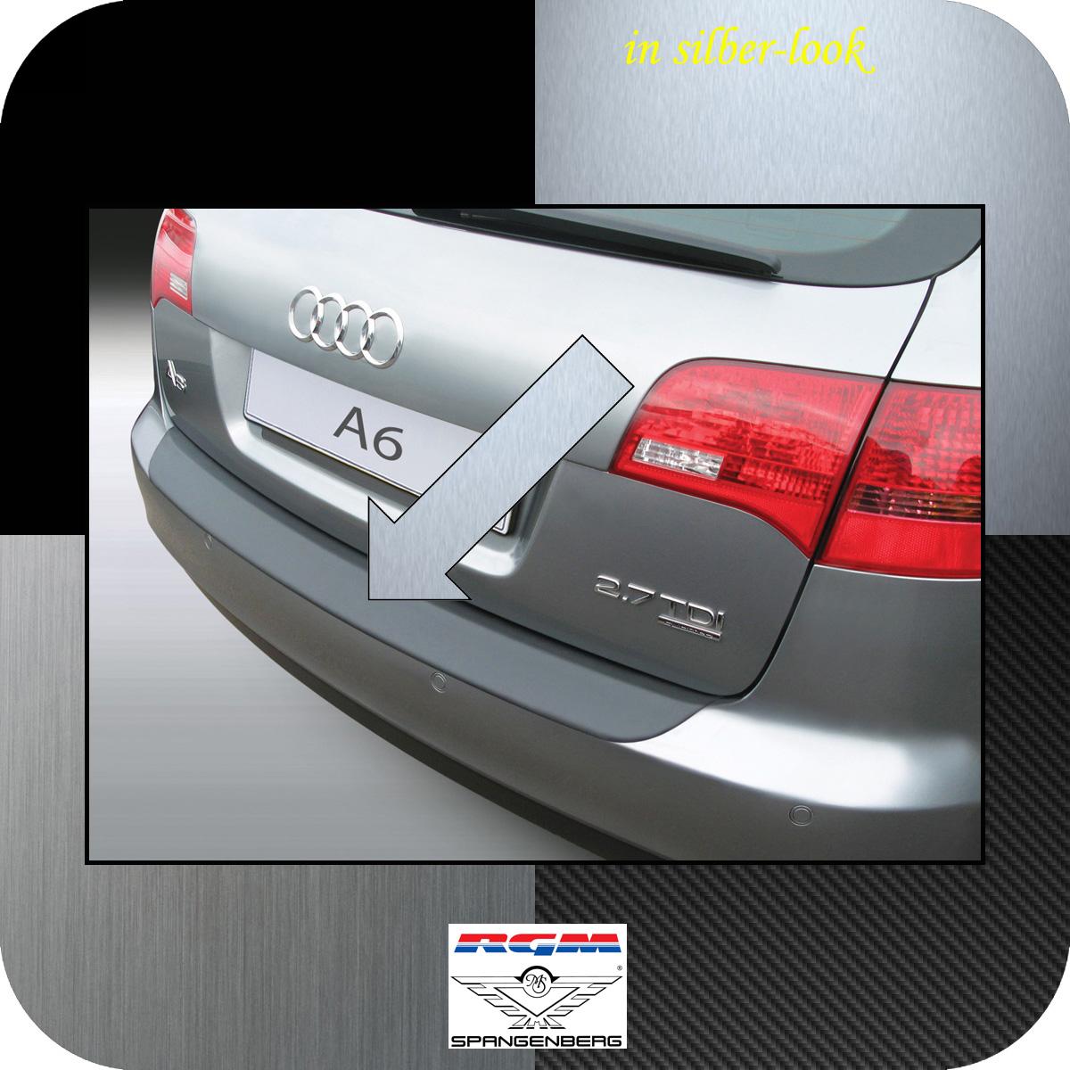 Ladekantenschutz Silber-Look Audi A6 C6 Avant auch Allroad Kombi 2005-11 3506341