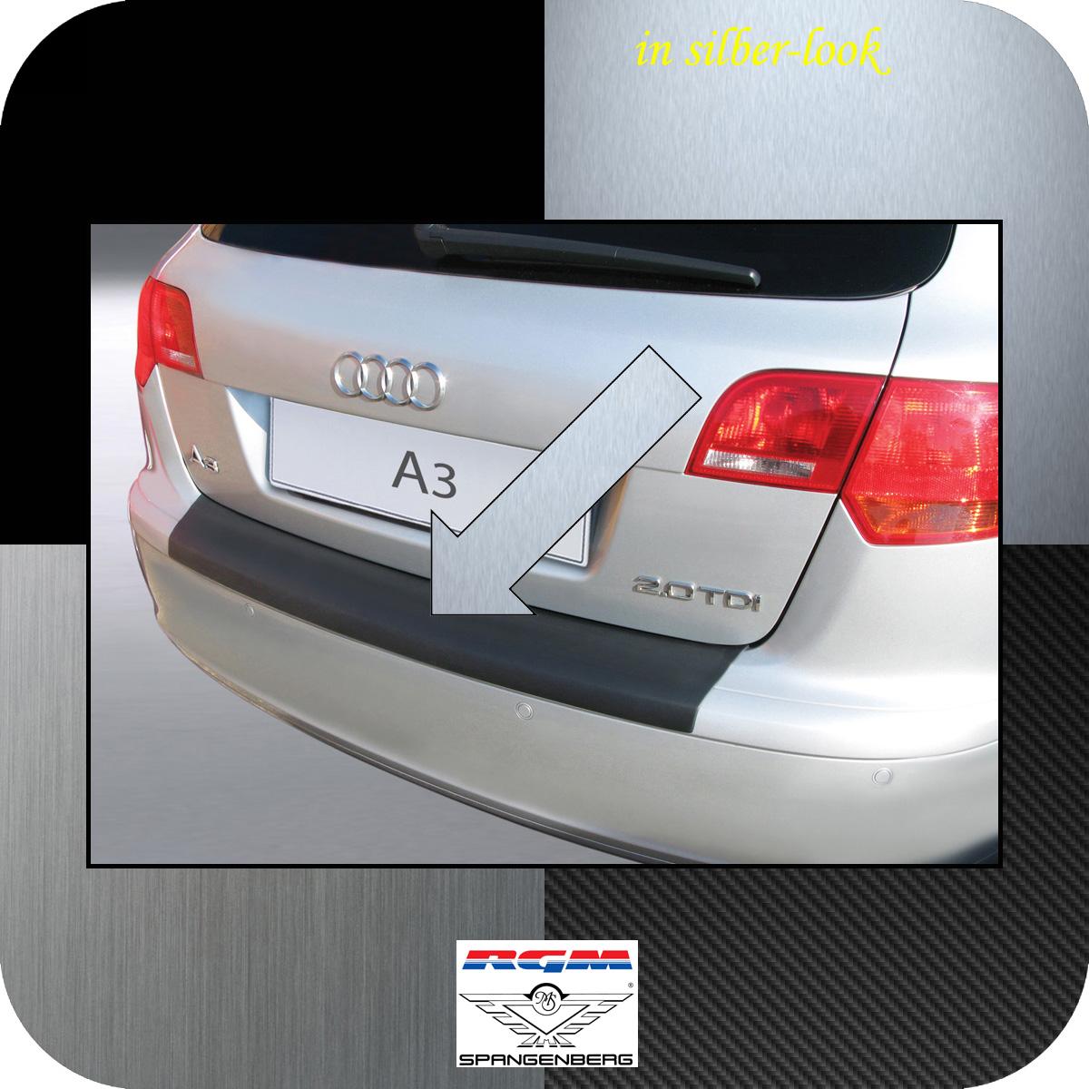 Ladekantenschutz Silber-Look Audi A3 Sportback vor facelift 2004-2008 3506361