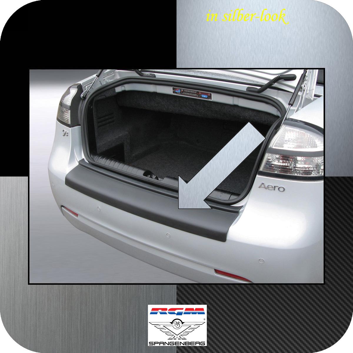 Ladekantenschutz Silber-Look Saab 9-3 II Cabrio 2-türig ab Mopf 2007-15 3506406