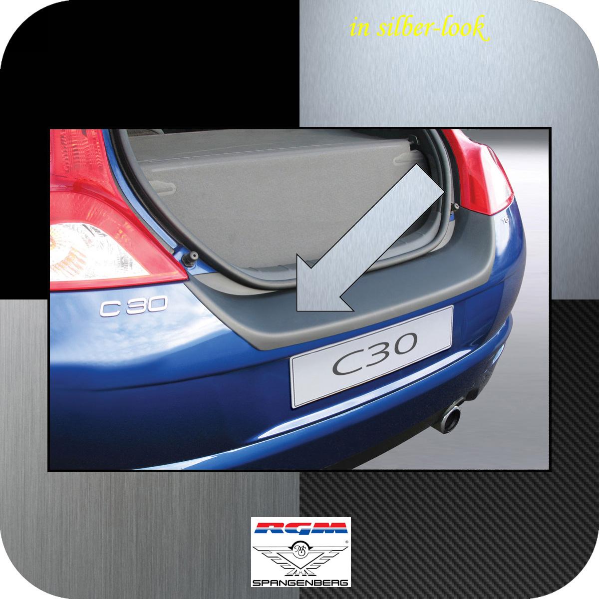 Ladekantenschutz Silber-Look Volvo C30 Kombicoupe 3-Türer 2006-2012 3506410