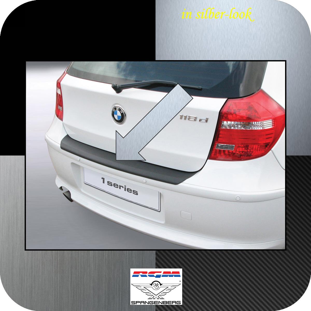 Ladekantenschutz Silber-Look BMW 1er E81 E87 Schrägheck ab Mopf 2007-12 3506453