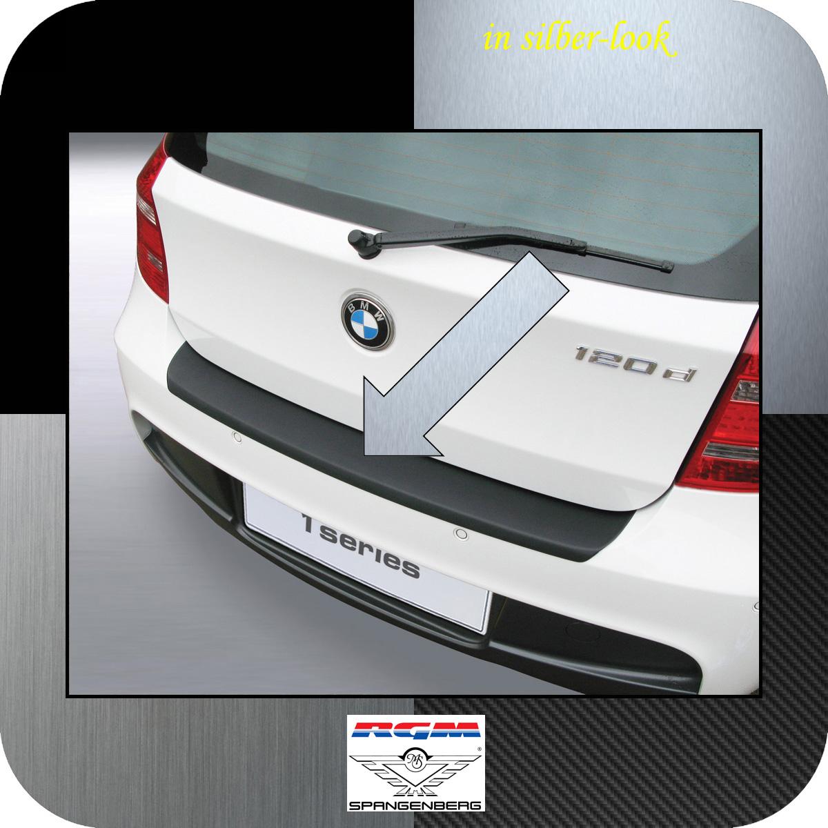 Ladekantenschutz Silber-Look BMW 1er E81 E87 M-Style ab facelift 2007-12 3506457