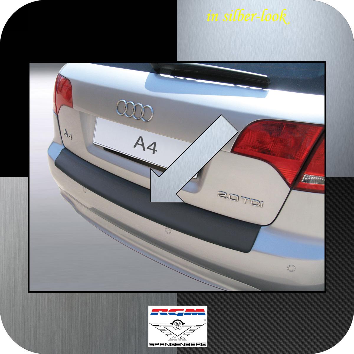 Ladekantenschutz Silber-Look Audi A4 B7 Avant Kombi auch S-Line 2004-08 3506462