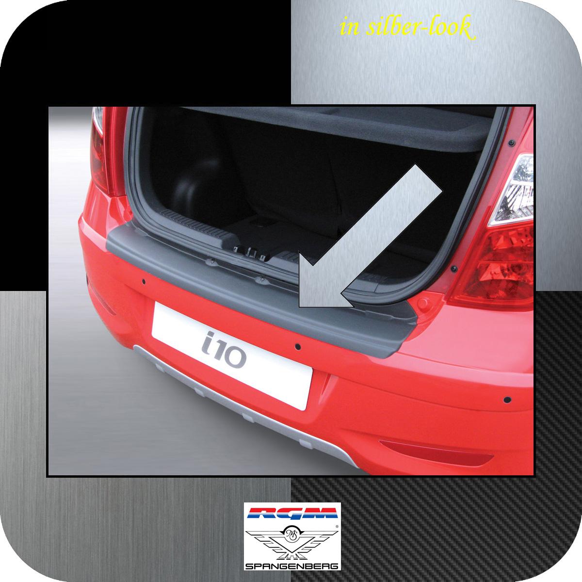 Ladekantenschutz Silber-Look Hyundai i10 I Schrägheck ab Mopf 2011-2013 3506497