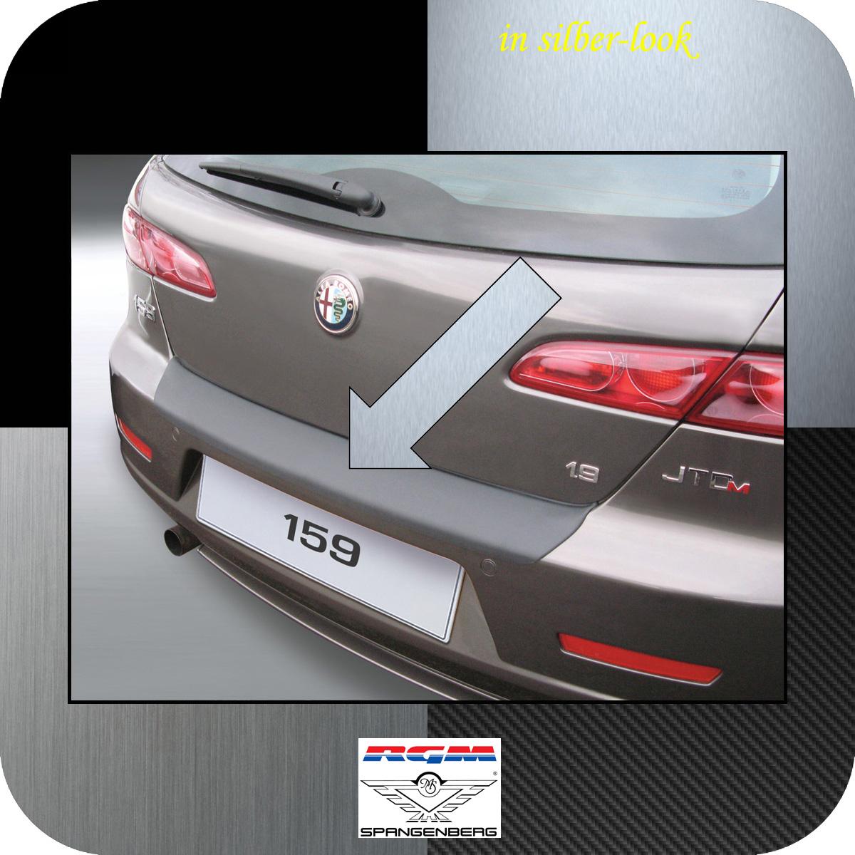 Ladekantenschutz Silber-Look Alfa Romeo 159 Sportwagon Kombi 2006-2011 3506499