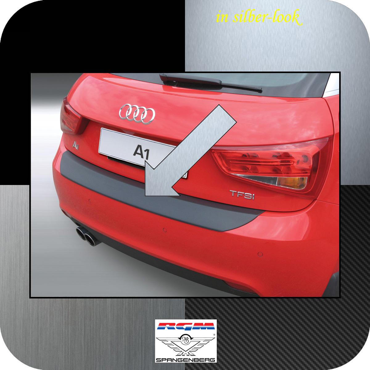 Ladekantenschutz Silber-Look Audi A1 auch Sportback vor facelift 2010-14 3506513