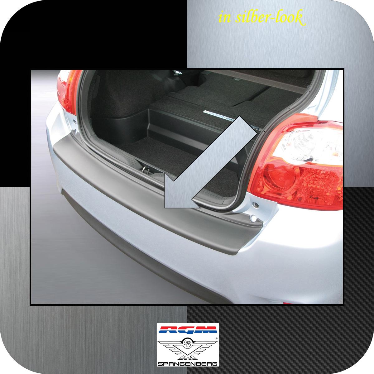 Ladekantenschutz Silber-Look Toyota Auris I Schrägheck ab Mopf 2010-2012 3506515