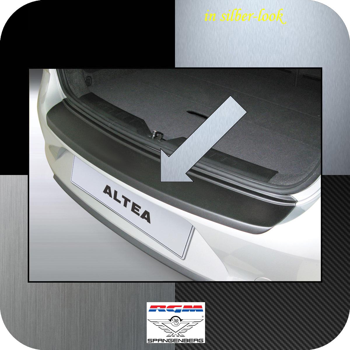 Ladekantenschutz Silber-Look Seat Altea Van Kombi ab facelift 2009-2015 3506518