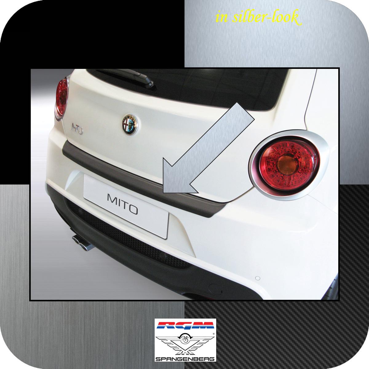 Ladekantenschutz Silber-Look Alfa Romeo Mito Schrägheck ab Baujahr 2008- 3506546
