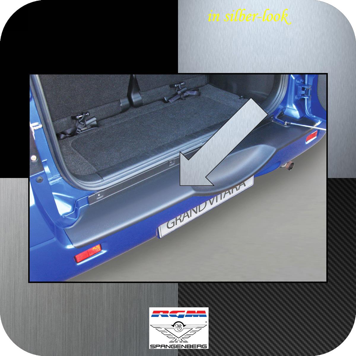 Ladekantenschutz Silber-Look Suzuki Grand Vitara II Radhalter 2005-2015 3506553