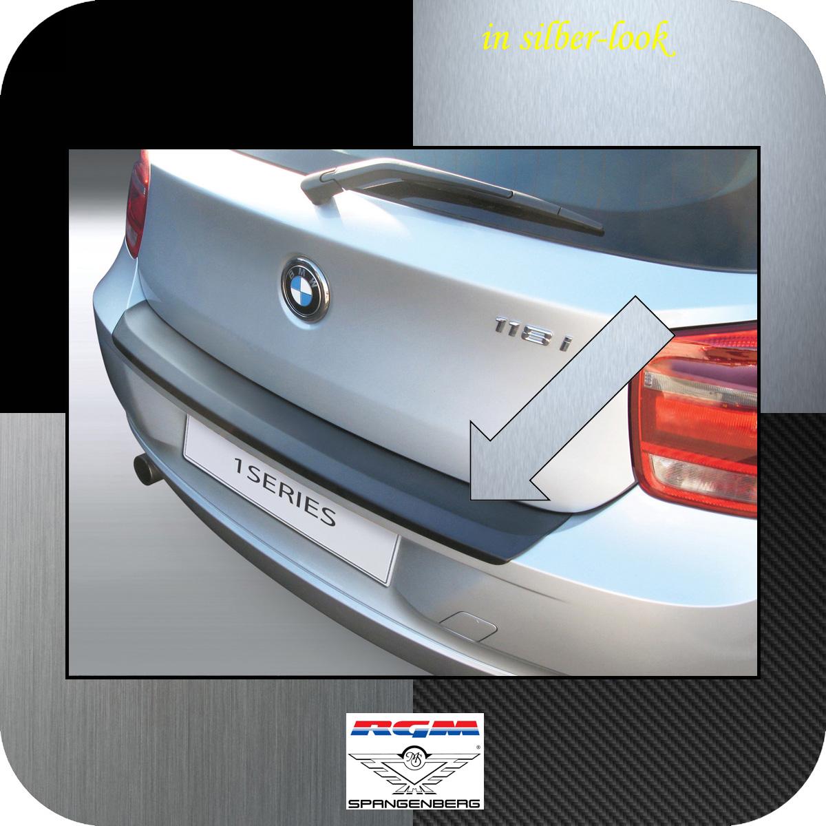 Ladekantenschutz Silber-Look BMW 1er F21 und F20 vor facelift Bj 2011-15 3506554