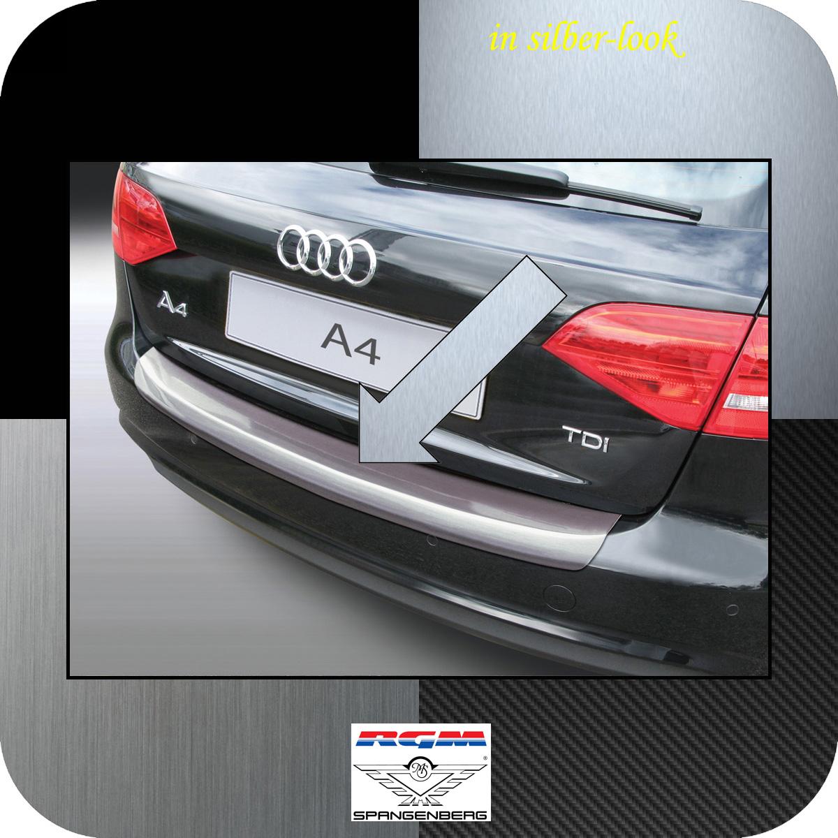 Ladekantenschutz Silber-Look Audi A4 B8 Avant Mopf 2011-2015 auch S-Line 3506566