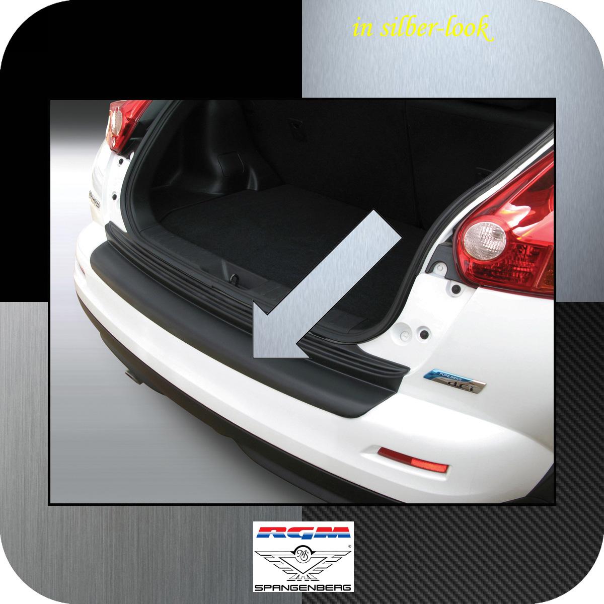 Ladekantenschutz Silber-Look Nissan Juke SUV Kombi vor facelift 2010-14 3506581