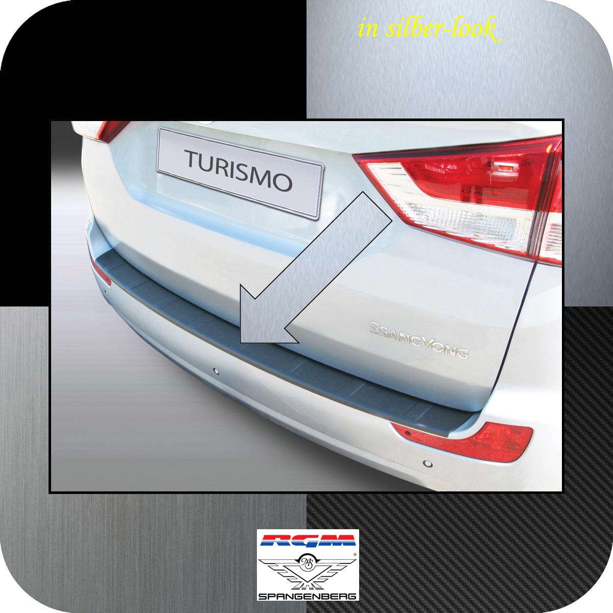 Ladekantenschutz Silber-Look SsangYong Rodius II Turismo Van ab 2013- 3506615