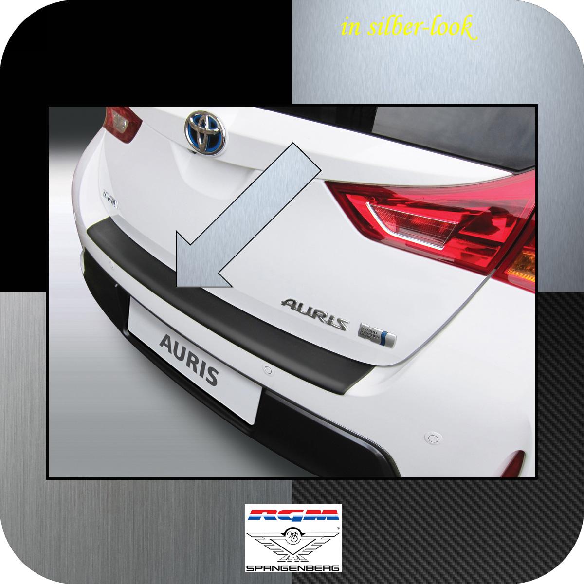 Ladekantenschutz Silber-Look Toyota Auris II Schrägheck vor Mopf 2012-15 3506620