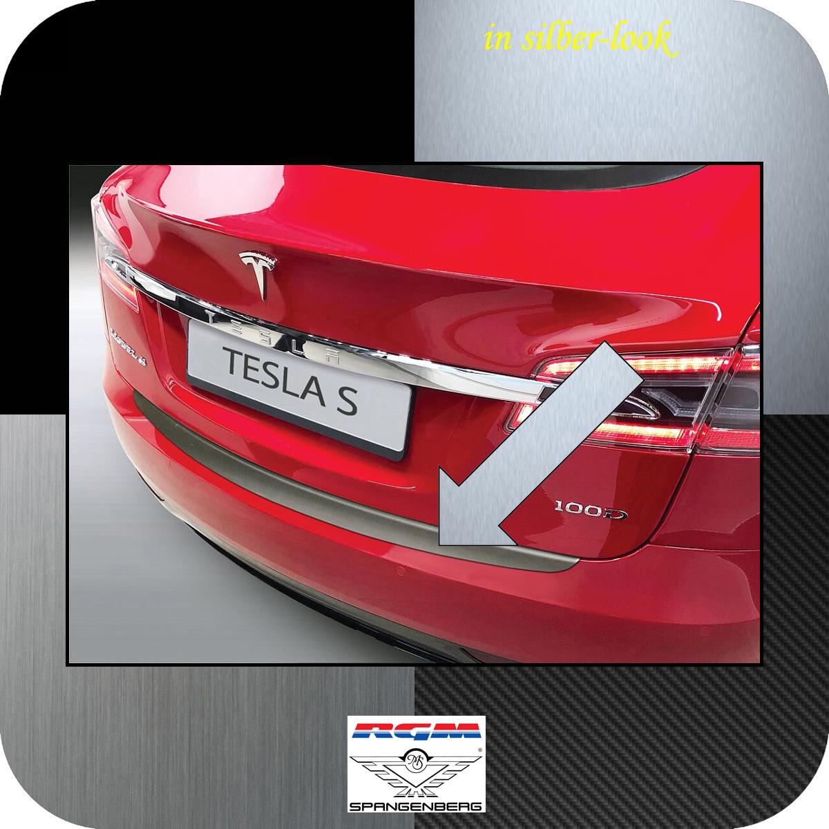 Ladekantenschutz Silber-Look Tesla Model S ab Baujahr 06.2012- 3506658